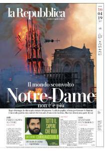 la Repubblica - 16 Aprile 2019