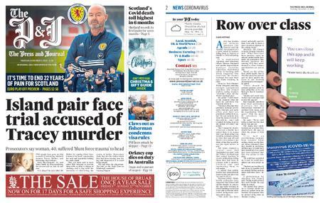 The Press and Journal Moray – November 12, 2020