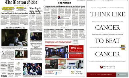 The Boston Globe – November 27, 2017