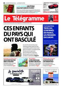 Le Télégramme Landerneau - Lesneven – 25 janvier 2020