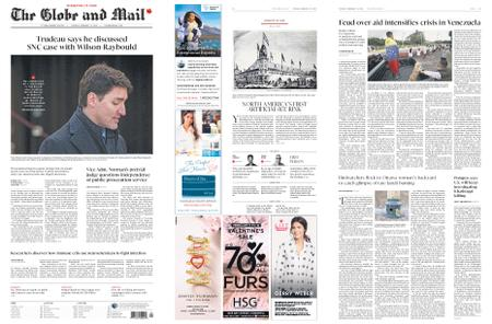The Globe and Mail – February 12, 2019