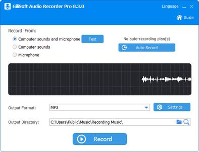 GiliSoft Audio Recorder Pro 8.3.0 Multilingual