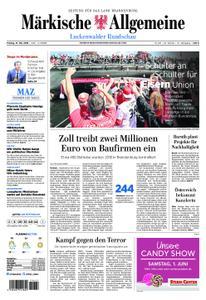Märkische Allgemeine Luckenwalder Rundschau - 31. Mai 2019