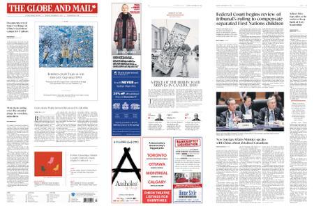 The Globe and Mail – November 25, 2019