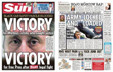 The Sun UK – 29 March 2018