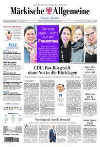 Märkische Allgemeine Prignitz Kurier - 08. März 2018