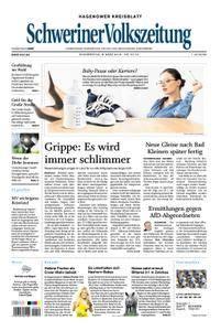 Schweriner Volkszeitung Hagenower Kreisblatt - 08. März 2018