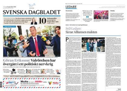Svenska Dagbladet – 11 september 2018