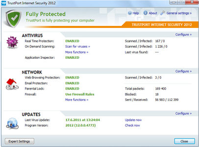 TrustPort Internet Security 2012 12.0.0.4798 Multilanguage