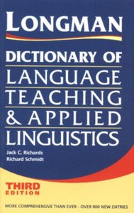 Longman Dictionary of Language Teaching and Applied Linguistics by Jack Richards [Repost]