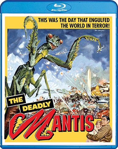 The Deadly Mantis (1957) + Extra