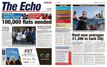 Evening Echo – August 20, 2019