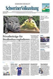 Schweriner Volkszeitung Hagenower Kreisblatt - 21. Juli 2018