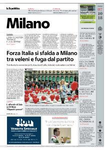 la Repubblica Milano - 7 Ottobre 2018
