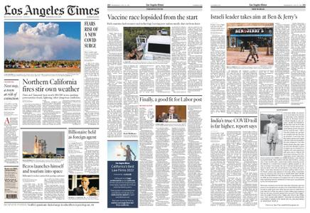 Los Angeles Times – July 21, 2021