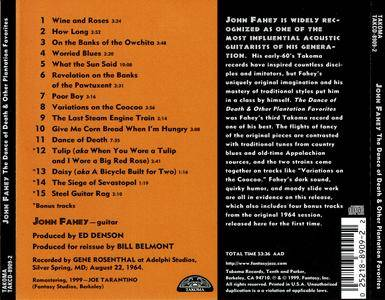 John Fahey The Dance Of Death Amp Other Plantation