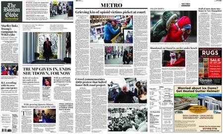 The Boston Globe – January 26, 2019