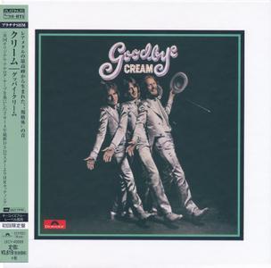 Cream - Goodbye (1969) [2013, Japanese Platinum SHM-CD]