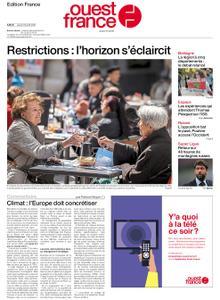 Ouest-France Édition France – 22 avril 2021