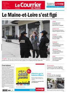 Le Courrier de l'Ouest Angers – 18 mars 2020