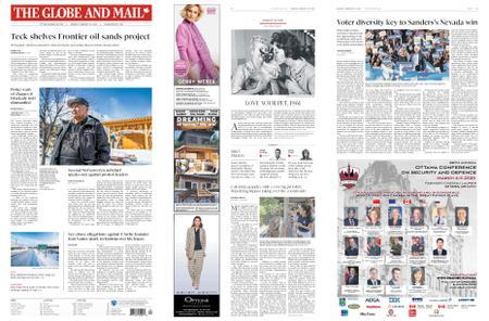 The Globe and Mail – February 24, 2020