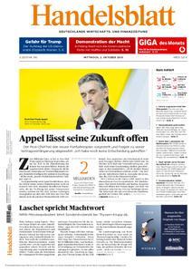 Handelsblatt - 02. Oktober 2019