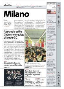 la Repubblica Milano - 4 Dicembre 2017