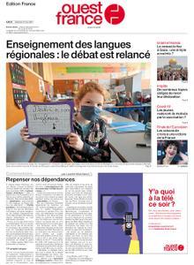 Ouest-France Édition France – 22 mai 2021