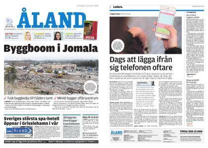 Ålandstidningen – 13 januari 2018