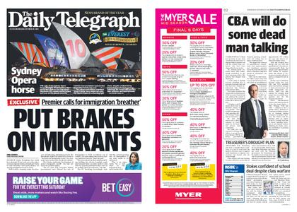 The Daily Telegraph (Sydney) – October 10, 2018