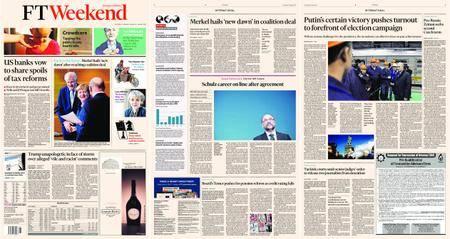 Financial Times Europe – 13 January 2018