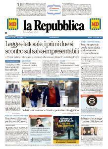 la Repubblica - 12 Ottobre 2017