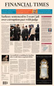 Financial Times Middle East - March 2, 2021