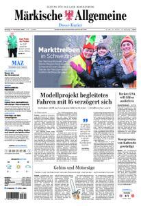 Märkische Allgemeine Dosse Kurier - 17. Dezember 2018