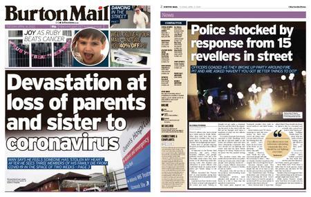 Burton Mail – April 14, 2020