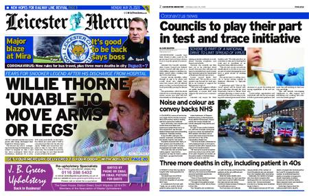 Leicester Mercury – May 25, 2020