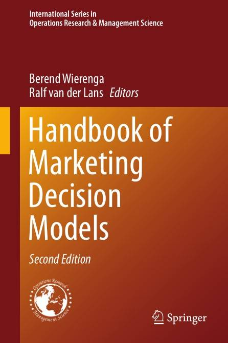 Handbook of Marketing Decision Models, Second Edition