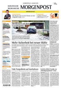 Solinger Morgenpost – 31. Januar 2019