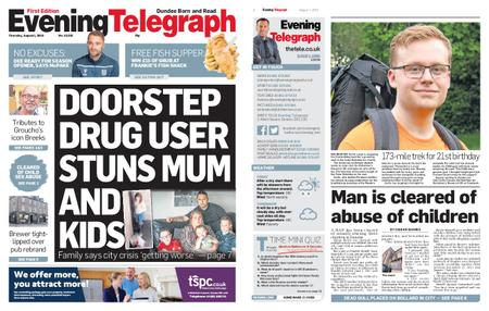 Evening Telegraph First Edition – August 01, 2019
