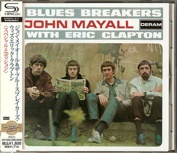 John Mayall & Blues Breakers with Eric Clapton (1966) SHM-CD Reissue, Mono & Stereo 2 in 1 [Re-Up]