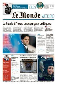 Le Monde du Samedi 3 Août 2019