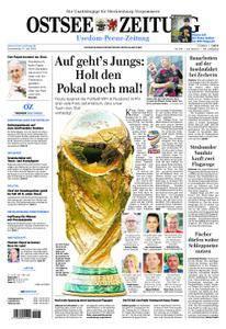 Ostsee Zeitung Wolgast - 14. Juni 2018