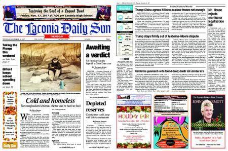 The Laconia Daily Sun – November 16, 2017