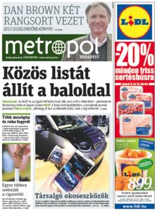 Metro [Hungary - Budapest], 09. Januar 2014
