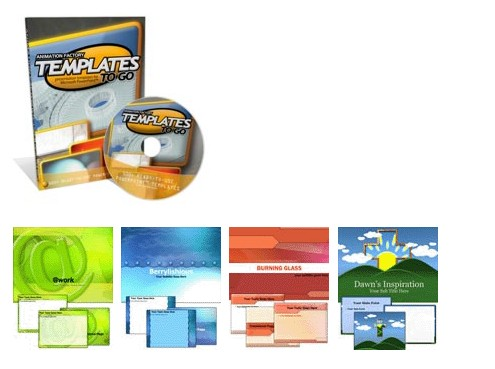 Animation Factory Powerpoint Templates CD 1 + 2