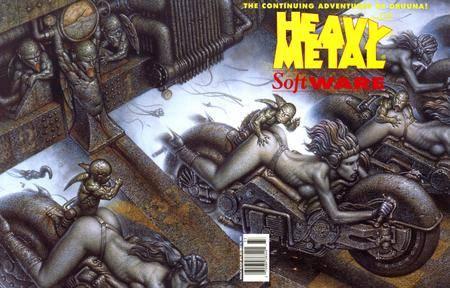 Heavy Metal Software Uncensored 1993 12 SE 07X02 Vague Prophet  Vapor Trail DCP