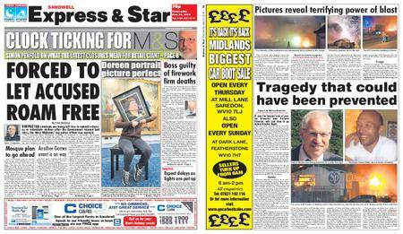 Express and Star Sandwell Edition – May 23, 2018