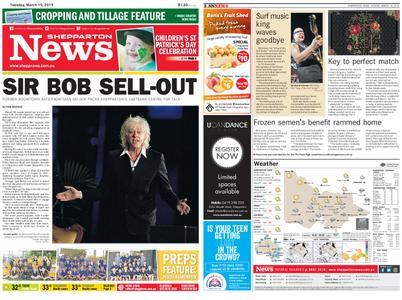 Shepparton News – March 19, 2019