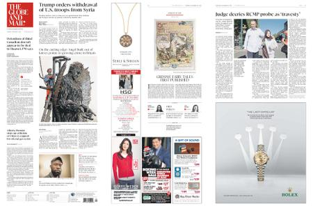 The Globe and Mail – December 20, 2018