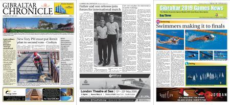 Gibraltar Chronicle – 10 July 2019